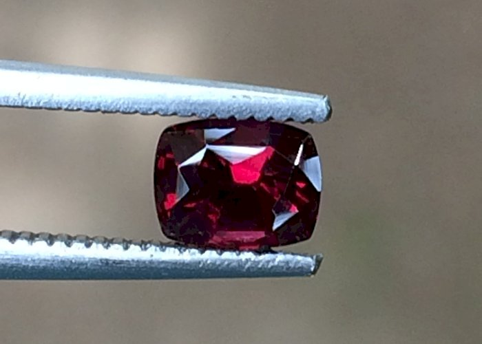 0.94 Cts Natural Unheated Ruby Slightly Dark Color pigeon Blood Red Ruby