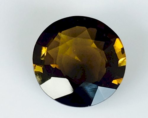 8.45 Cts Flawless Natural Brown Tourmaline Certified